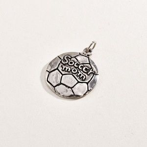 Jewelry - Sterling 925 Soccer Mom Pendant